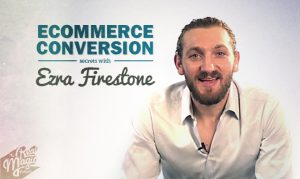 The Real Magic Design Podcast Episode 12 - Ecommerce conversion secrets with Ezra Firestone