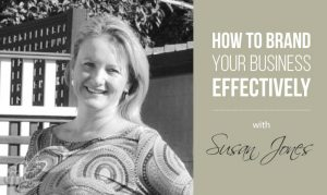 The Real Magic Design Podcast Episode 18 - Ep 018 How to brand business your effectivly with Sue Jones