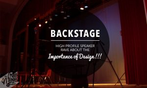 The Real Magic Deisgn Podcast - Designing for Live Events - Ep 023 - Backstage: High Profile Speakers Rave About The Importance of Design