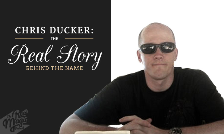 The Real Magic Graphic Design Podcast Episode 28 - Chris Ducker, The Real Story Behind The Name!
