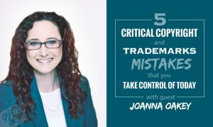 Episode 45 - The Real Magic Graphic Design Podcast - 5 Critical Copyright and Trademarks Mistakes That You Must Take Control of Today