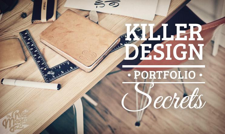 The Real Magic Design Podcast Episode 25 - Killer Design Portfolio Secrets